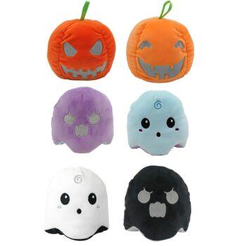 Multiple Halloween Reversible Ghost Plush
