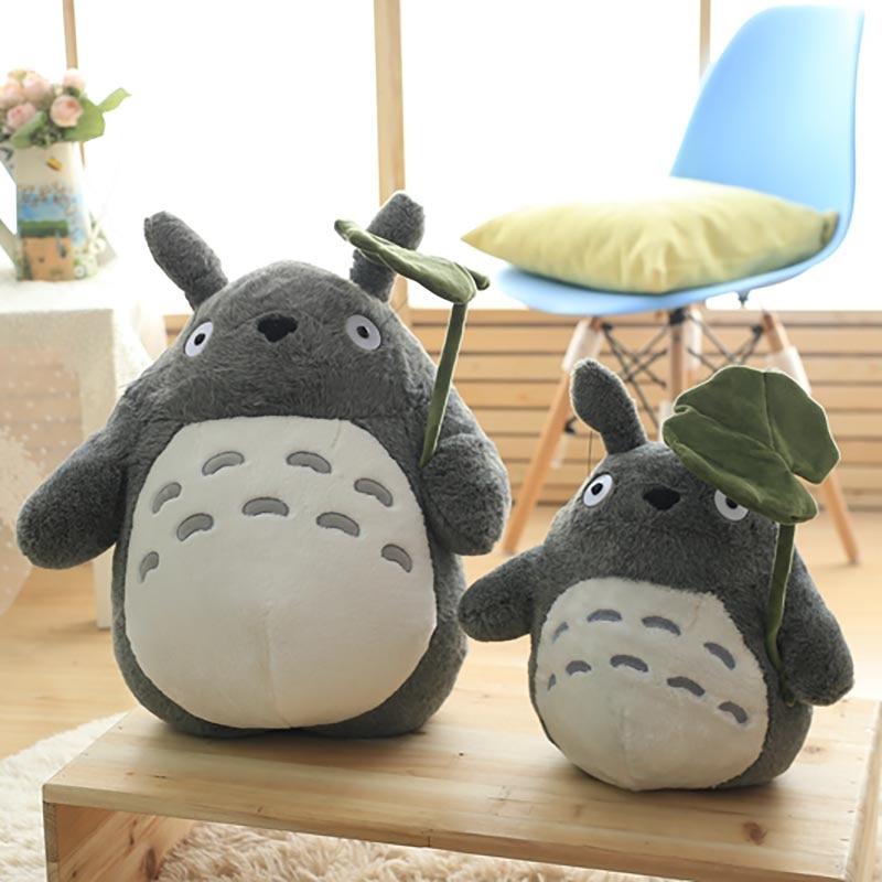 Two Japanese Animation Giant Totoro Plush