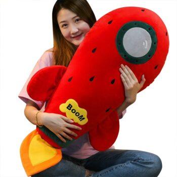 Kawaii Rocket Plush